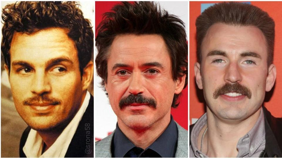 Who wore it better? Mark Ruffalo, Robert Downey Jr or Chris Evans?