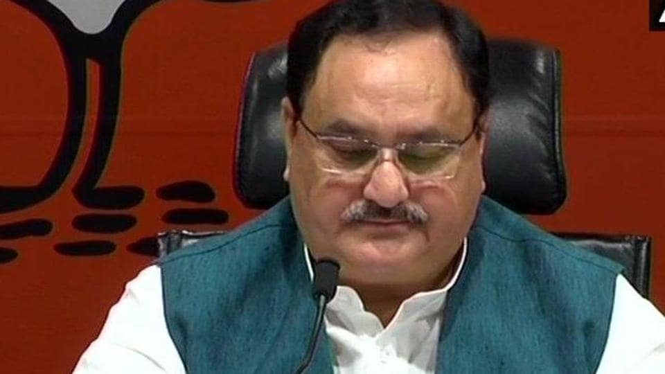 Union health minister JP Nadda announced the first list of BJP candidates for Lok Sabha elections on March 21.