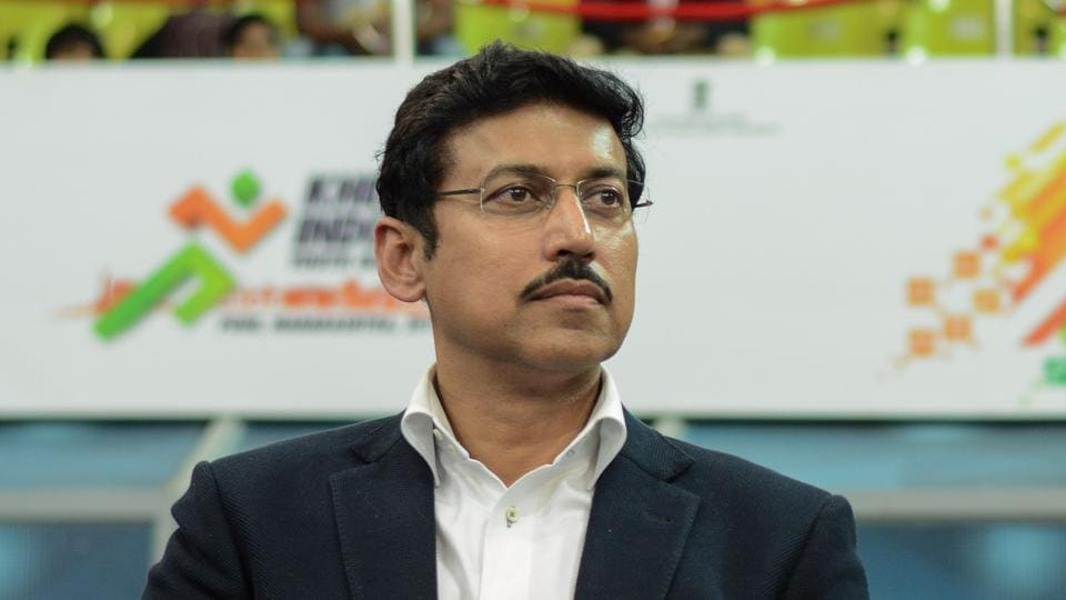 Union minister Rajyavardhan Singh Rathore is among the 16 candidates from Rajasthan in BJP's first list for LokSabha elections, announced on March 21,2019.