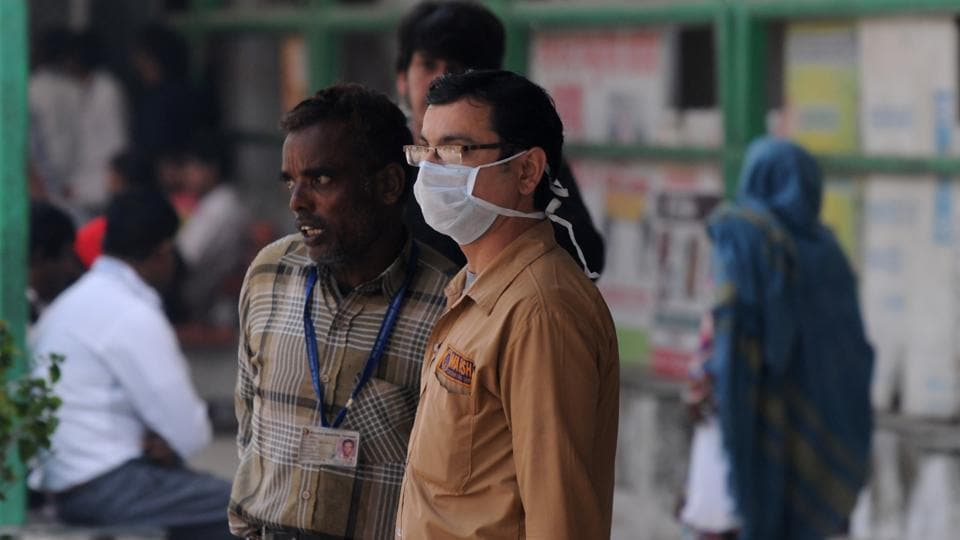 Two residents succumbed to complications arising from H1N1 influenza this month, taking the death toll from the disease this year to five, the district health department confirmed on Wednesday.  (Photo by Parveen Kumar/Hindustan Times)