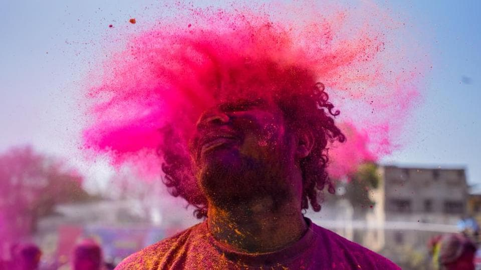 Holi is considered as one of the most revered and celebrated festivals of India and it is celebrated in almost every part of the country. (SANKET WANKHADE/HT PHOTO)