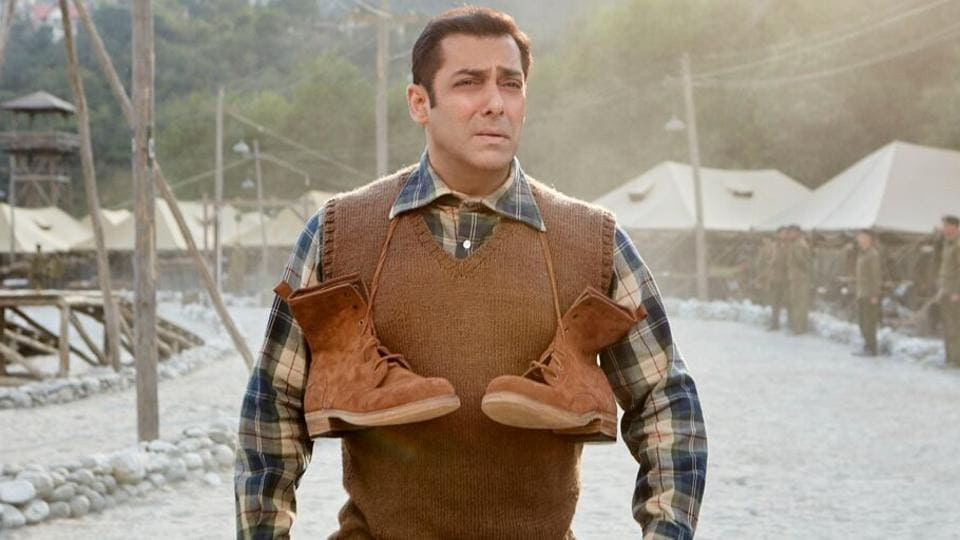 Salman Khan in a still from Tubelight.