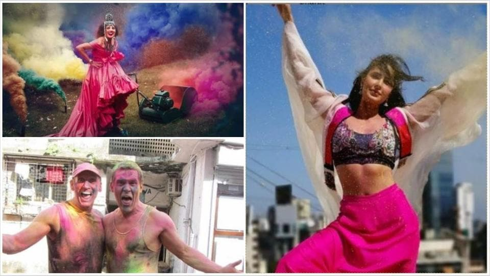 Priyanka Chopra, Katrina Kaif and Josh Brolin wished their fans on Holi.