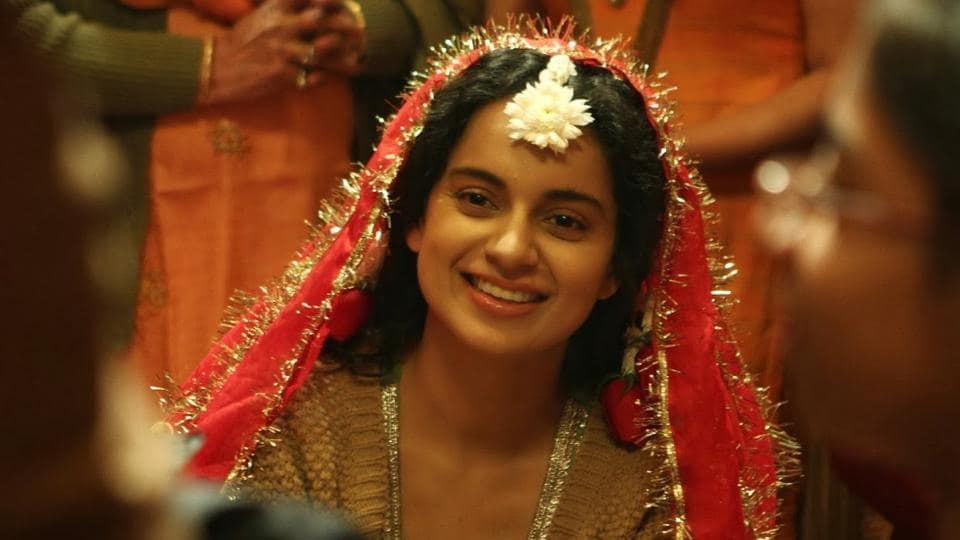 Kangana Ranaut in a still from Queen.