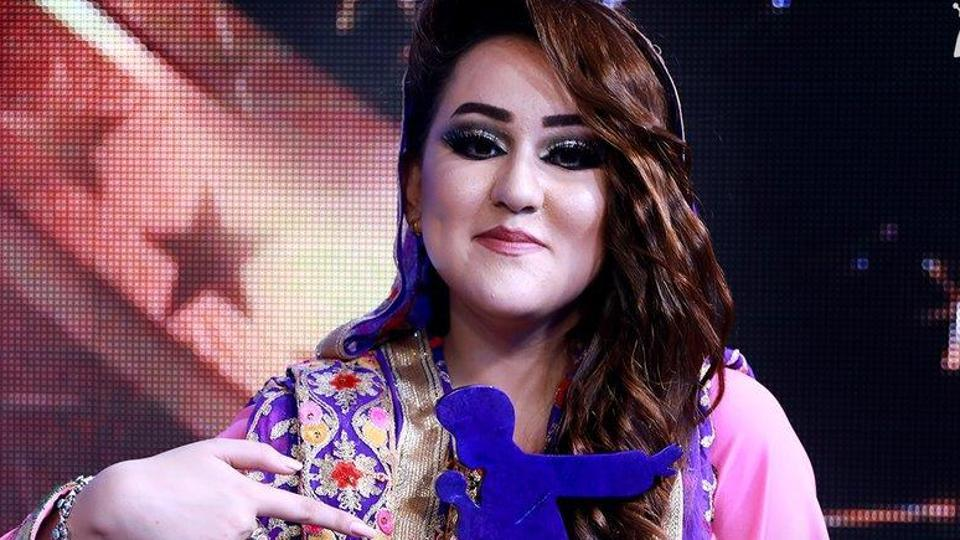 Zahra Elham became the first woman to win Afghan Star, a local version of American Idol.