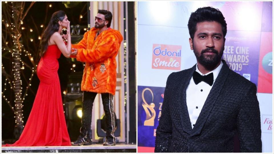Image result for deepika padukone zee cine awards vicky