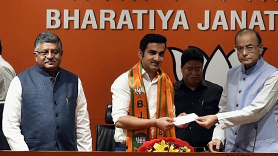 Gautam Gambhir,Delhi Lok Sabha,Bharatiya Janata Party
