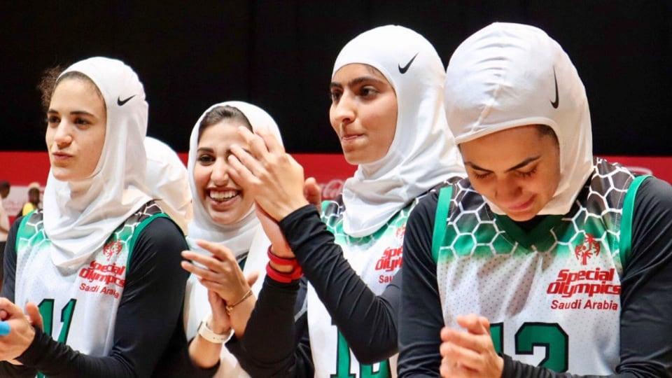 Allowed to participate for the first time, Saudi Women's basketball team win gold in Special Olympics