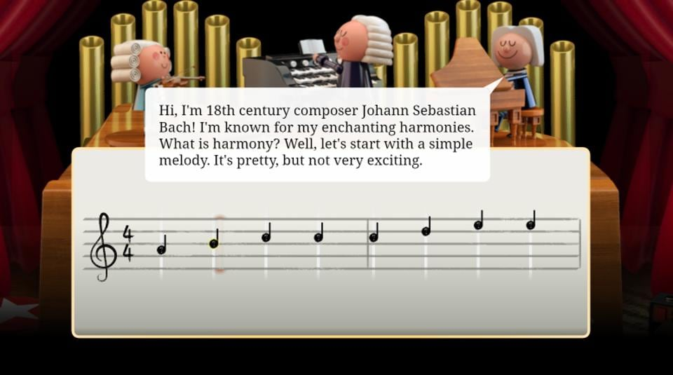 Google celebrates musician Johann Christian Bach with its first-ever AI-powered doodle