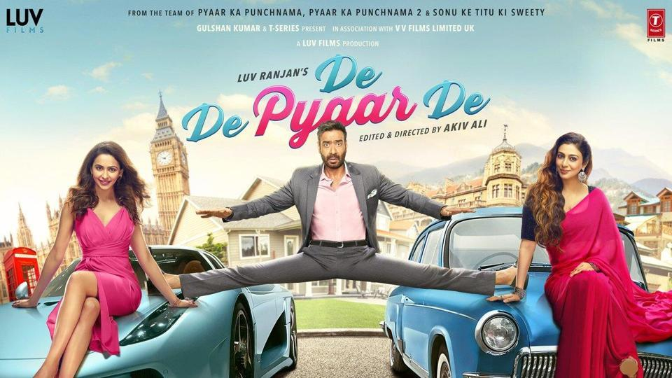 Image result for de de pyaar de