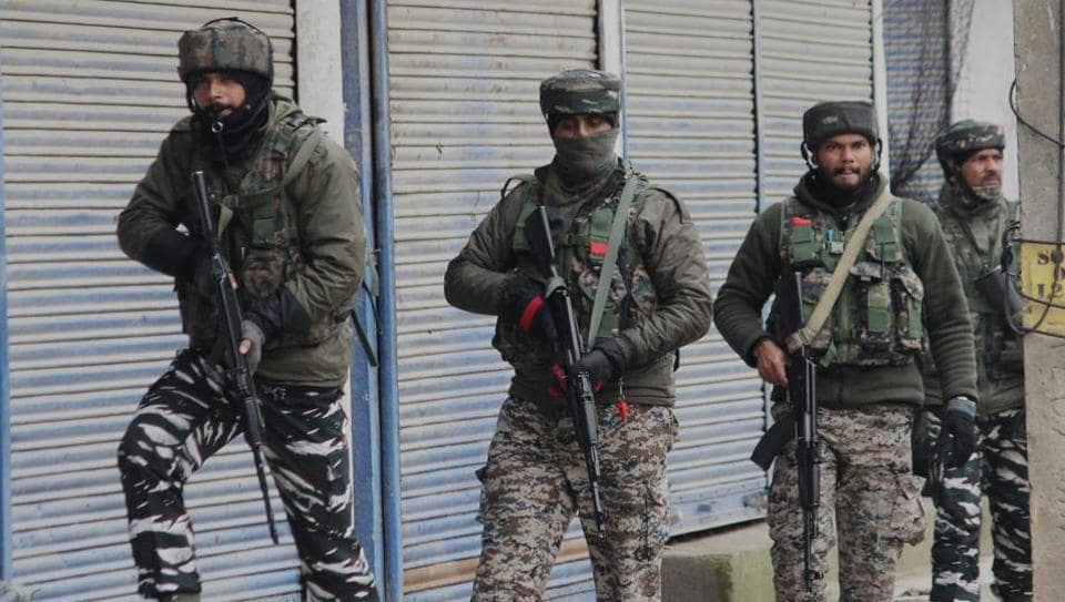 At least five militants, including two of the Jaish-e-Mohammed, have been killed in the last 24 hours by security forces in three districts of the Kashmir valley, Indian Army and police officials said on Friday. Two of the militants were killed in Baramulla's Kalantara Payeen, another two in Hajin in north Bandipora and one in Shopian. (Mohammad Waseem / ANI File)
