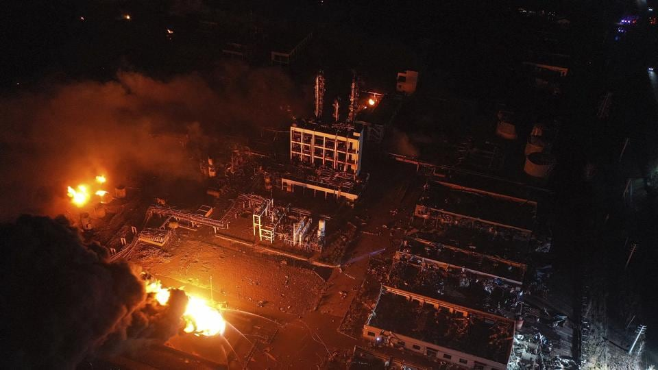 Death toll from east China factory blast jumps to 44