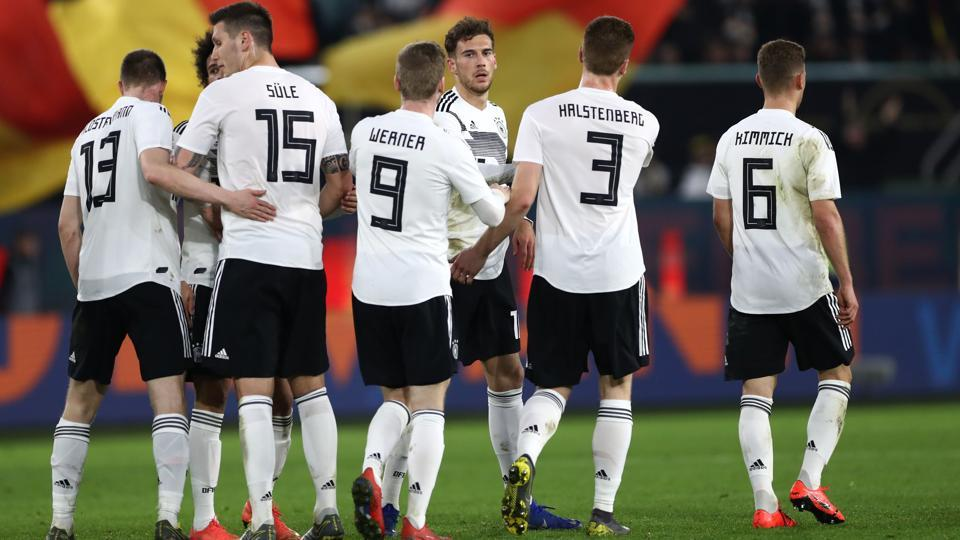 New-look Germany make promising start with Serbia draw | football
