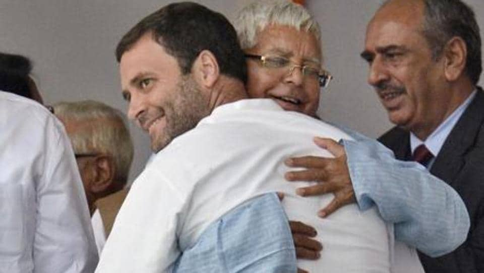 In Bihar grand alliance deal, a climb down for Congress and a Lalu Yadav imprint - Hindustan Times