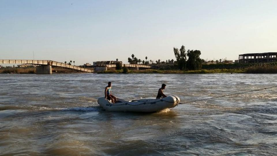 Iraq ferry sinking: almost 80 killed after overloaded vessel sinks