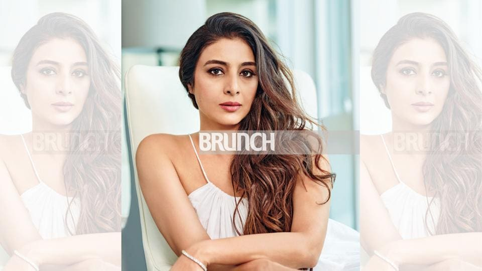 """Actor Tabu says, """"On your own, you can deal with your aloneness, but with a wrong partner, what could follow would be worse than any kind of loneliness"""" (Styling by Karishma Shaikh; hair and make-up by Meghna Butani; location courtesy: The A Club, Mumbai. Dress, Chola The Label)"""