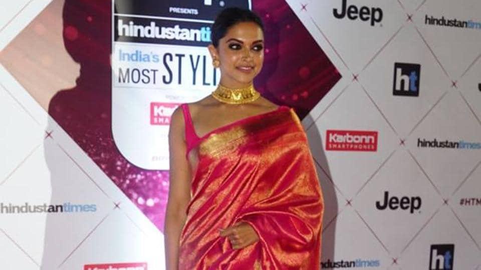 Deepika Padukone at HT India's Most Stylish last year.