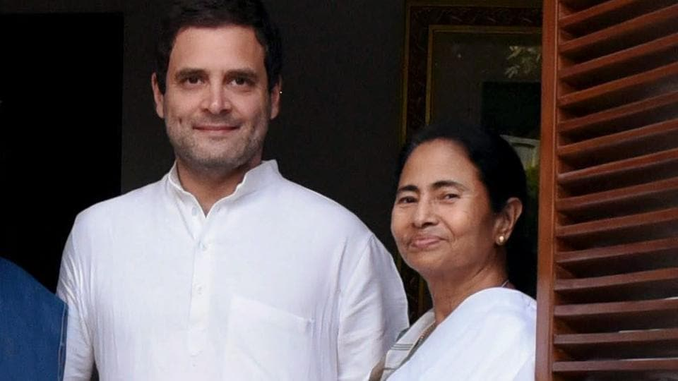 After PM Modi, the Congress president targeted the chief minister accusing her of adopting the same tactics as of the Left Front of the olden days.