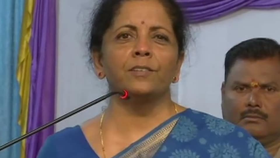'If only we conducted airstrike after 26/11 attack': Nirmala Sitharaman