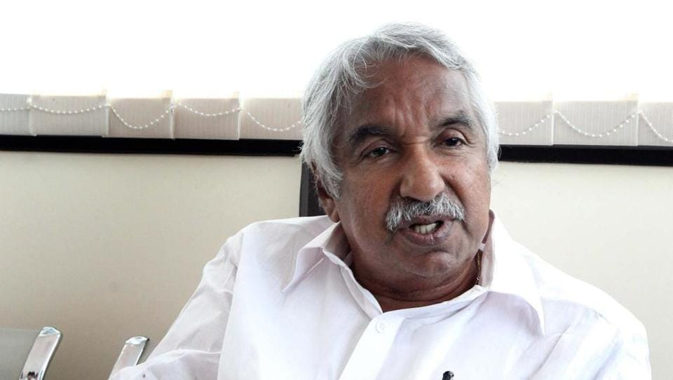 Oommen Chandy, 76, is a veteran Congress leader from Kerala.