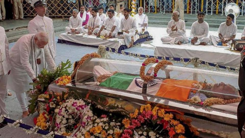 Goa's Minister for Art and Culture has ordered an inquiry into a reported 'purification ceremony' held at the Kala Academy, an institute of art and culture where the mortal remains of ex-Chief Minister Manohar Parrikar were kept for final public homage before his cremation.