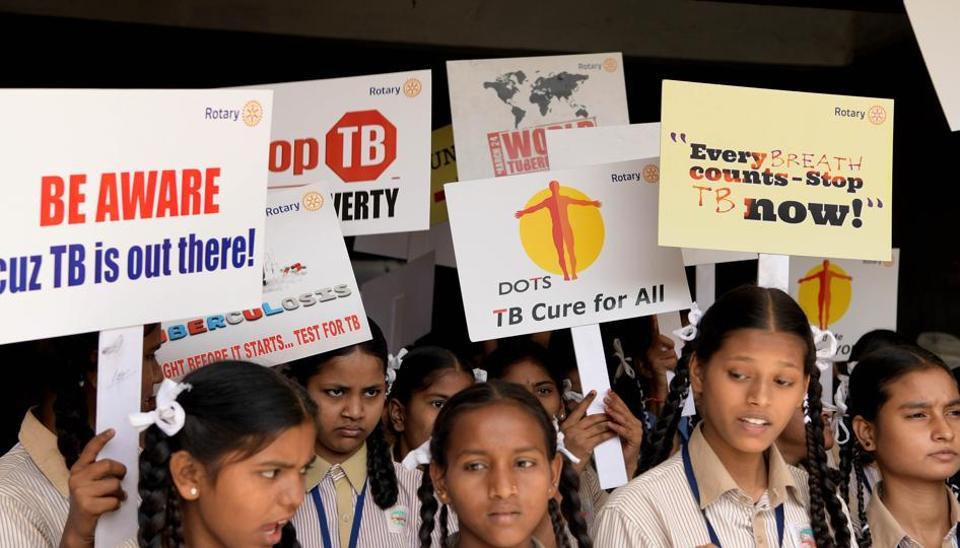 World TB Day Awareness Rally and Skit,Organised by Rotary club of New Bombay Seaside and along Shreeram Radhakrishnan Memorial Trust, at Nerul in Navi Mumbai.