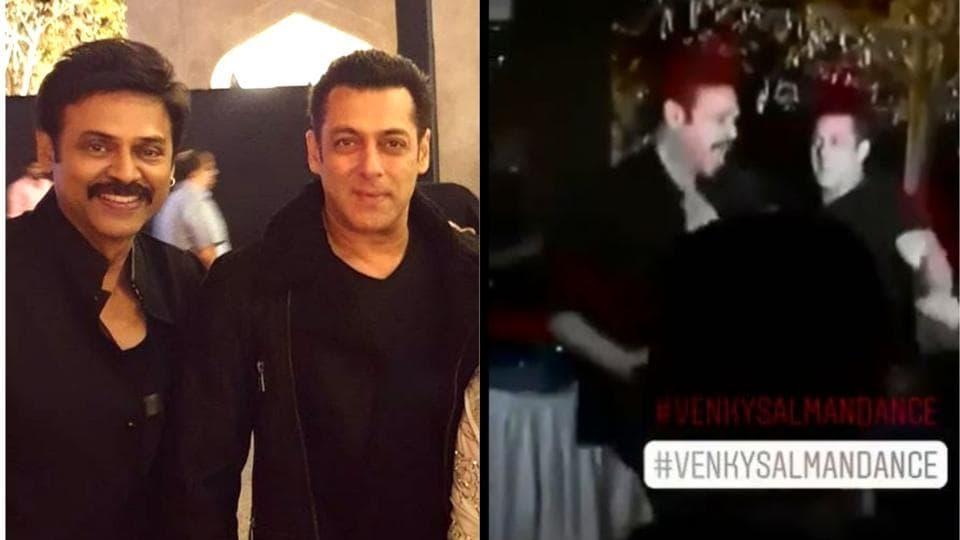 Salman Khan,Jumme Ki Raat,Venkatesh daughter wedding