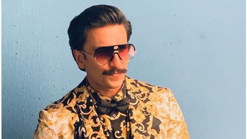 Ranveer Singh,Versace,Baroque Trend
