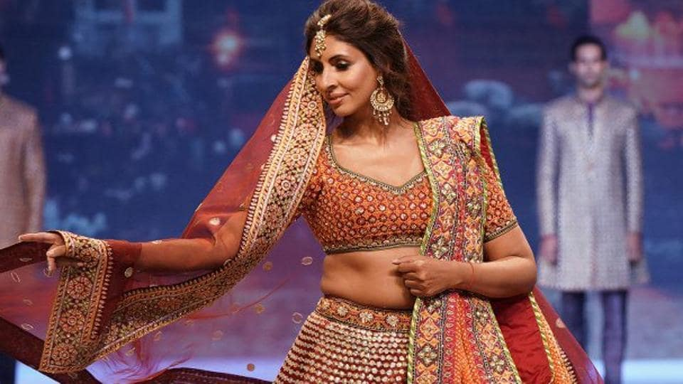 Shweta Bachchan Nanda at the Abu Jani-Sandeep Khosla show.