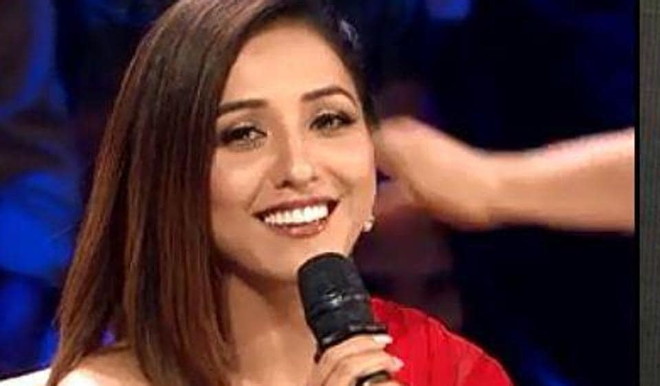 Neeti Mohan at the Rising Star auditions.