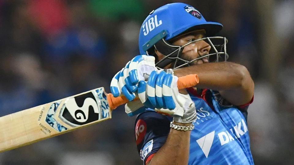 Delhi Capitals cricketer Rishabh Pant plays a shot during the 2019 Indian Premier League (IPL).