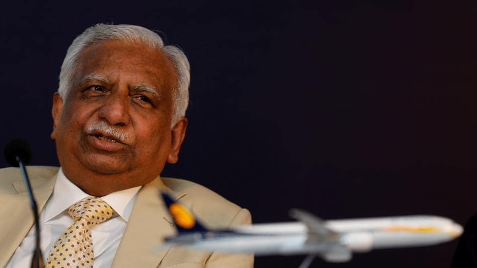 Chairman of Jet Airways Naresh Goyal in Mumbai.