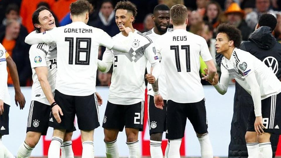 9c1ebb4be New-look Germany edge Netherlands in Euro 2020 qualifiers