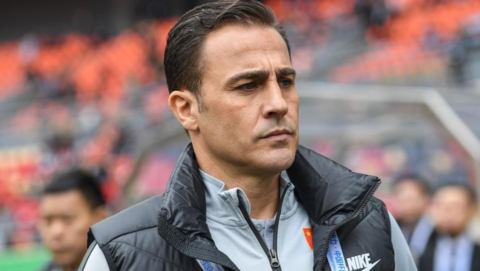 Cannavaro future in doubt after just 10 days as China coach | football