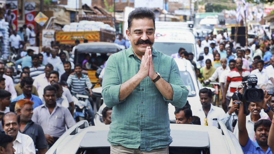 Lok Sabha elections 2019: Kamal Haasan to not contest polls, says all candidates are his faces