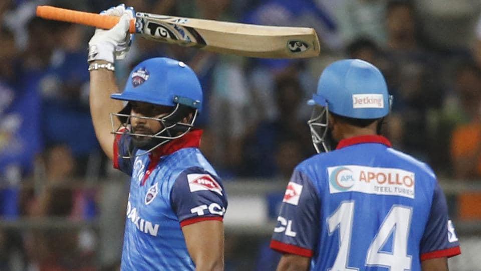 IPL 2019,MI vs DC,Rishabh Pant