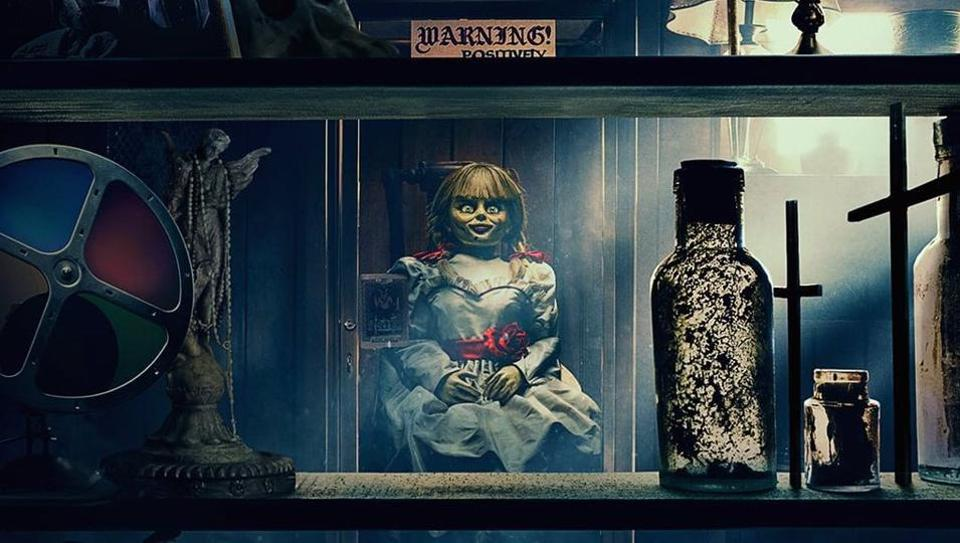 Here is the first look of Annabelle Comes Home.