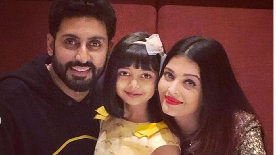 Aishwarya, Abhishek Bachchan return from their Goa vacation with daughter Aaradhya. See pics, video