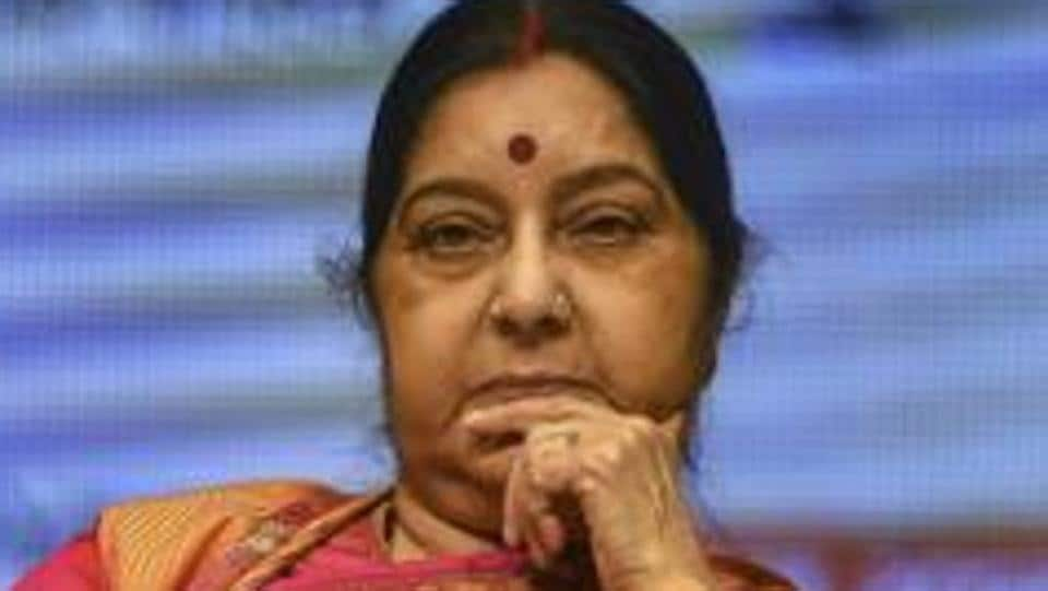 External Affairs Minister Sushma Swaraj took a dig at Pakistan Prime Minister Imran Khan while demanding justice for the two minor Hindu girls who were allegedly abducted, forcibly converted and married to Muslim men in the Sindh province.