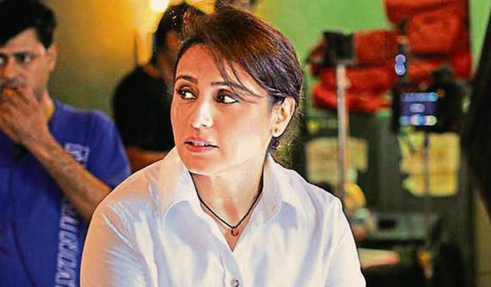 Mardaani 2 first look shows Rani Mukerji back in her cop avatar.