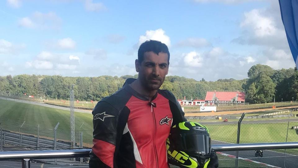 John Abraham will star in a film on bike racing, which will be directed by Rensil D'Silva.