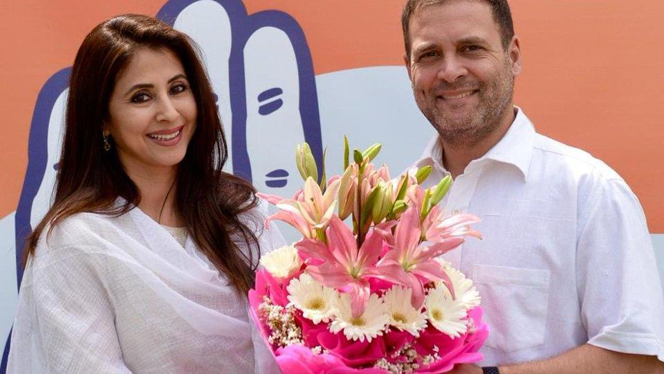 Image result for उर्मिला मातोंडकर ने कांग्रेस पार्टी में एंट्री की है,