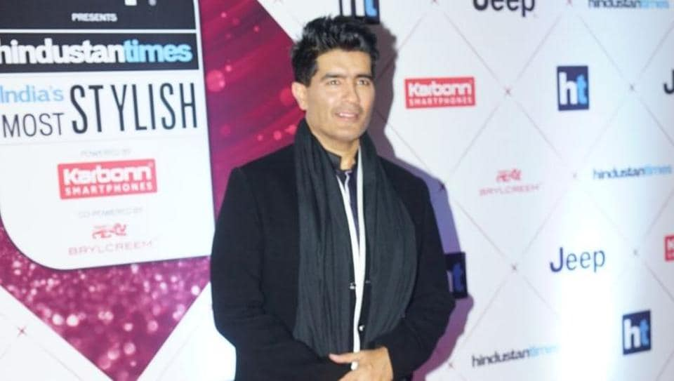 Manish Malhotra arrives at the HT India's Most Stylish awards 2018.