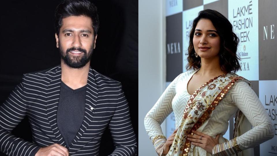 Tamannaah Bhatia said she would like to go on a date with Vicky Kaushal.