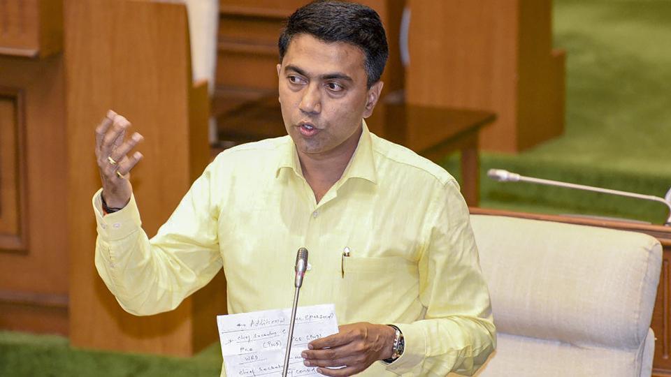 Pramod Sawant,Goa Chief minister,Sudin Dhavalikar