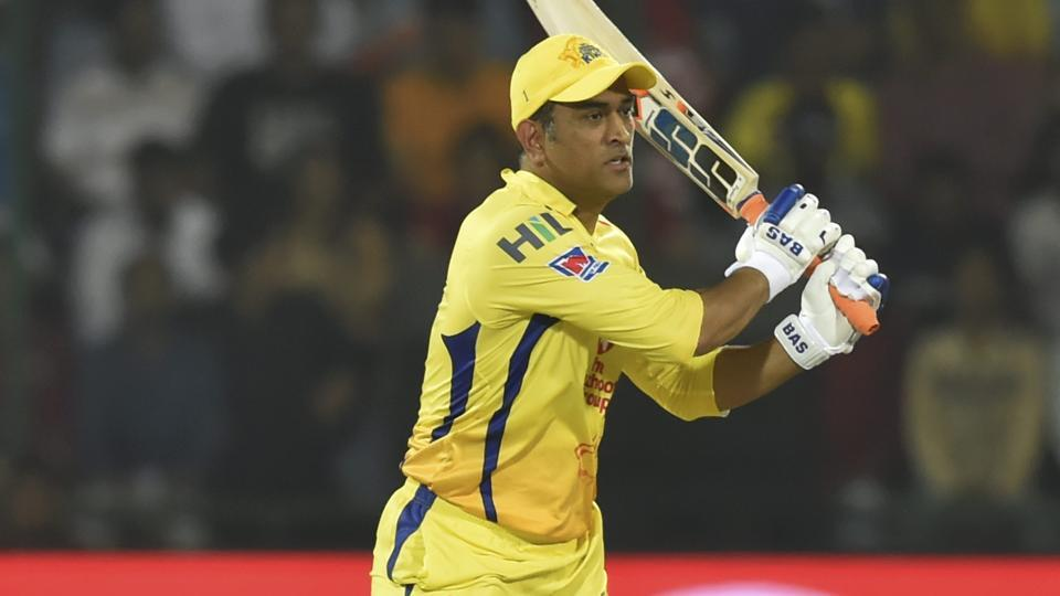 MS Dhoni in action. (PTI)