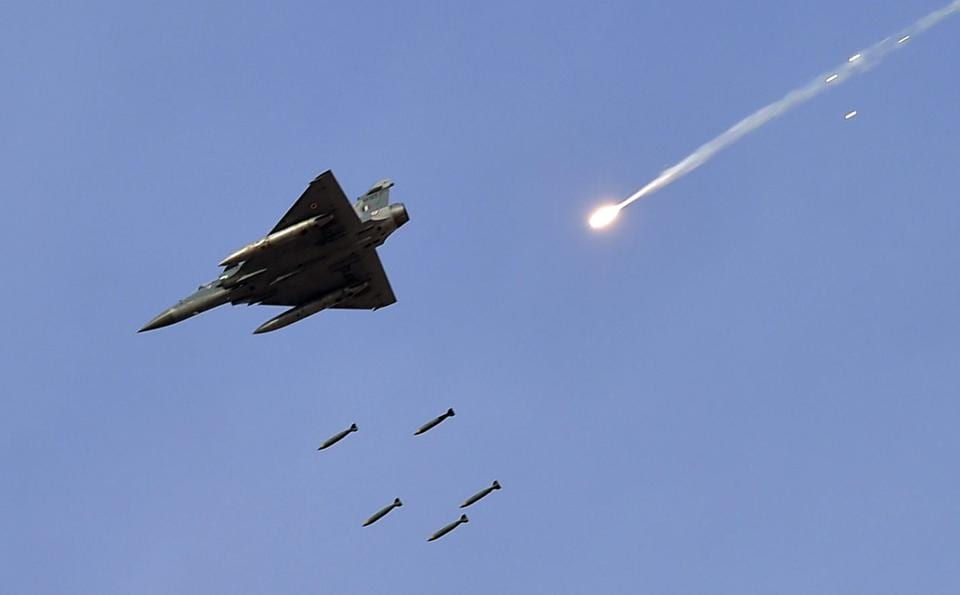 An IAF Mirage 2000 during a drill, 2017. It is only because of the force's good training, situational awareness, and some luck that this audacious PAF mission failed.