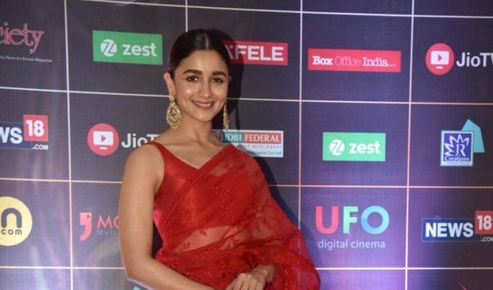 Alia Bhatt,Alia Bhatt Instagram,Alia Bhatt Reel Awards 2019.