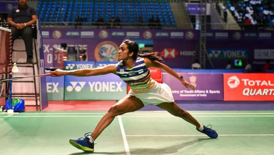 India's badminton player P Sindhu