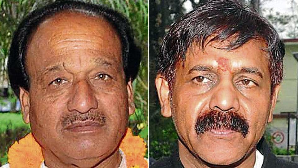 Sardar Khan (left) and Brahm Dev Jha are contesting the LokSabha elections as Independent candidates from the Tehri seat in Uttarakhand.